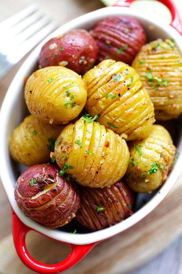 garlic roasted potatoes2