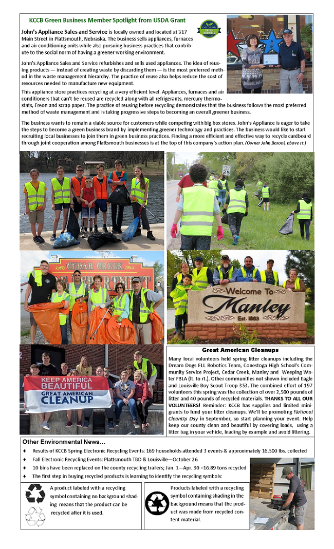2019 KCCB Summer Newsletter pg 2