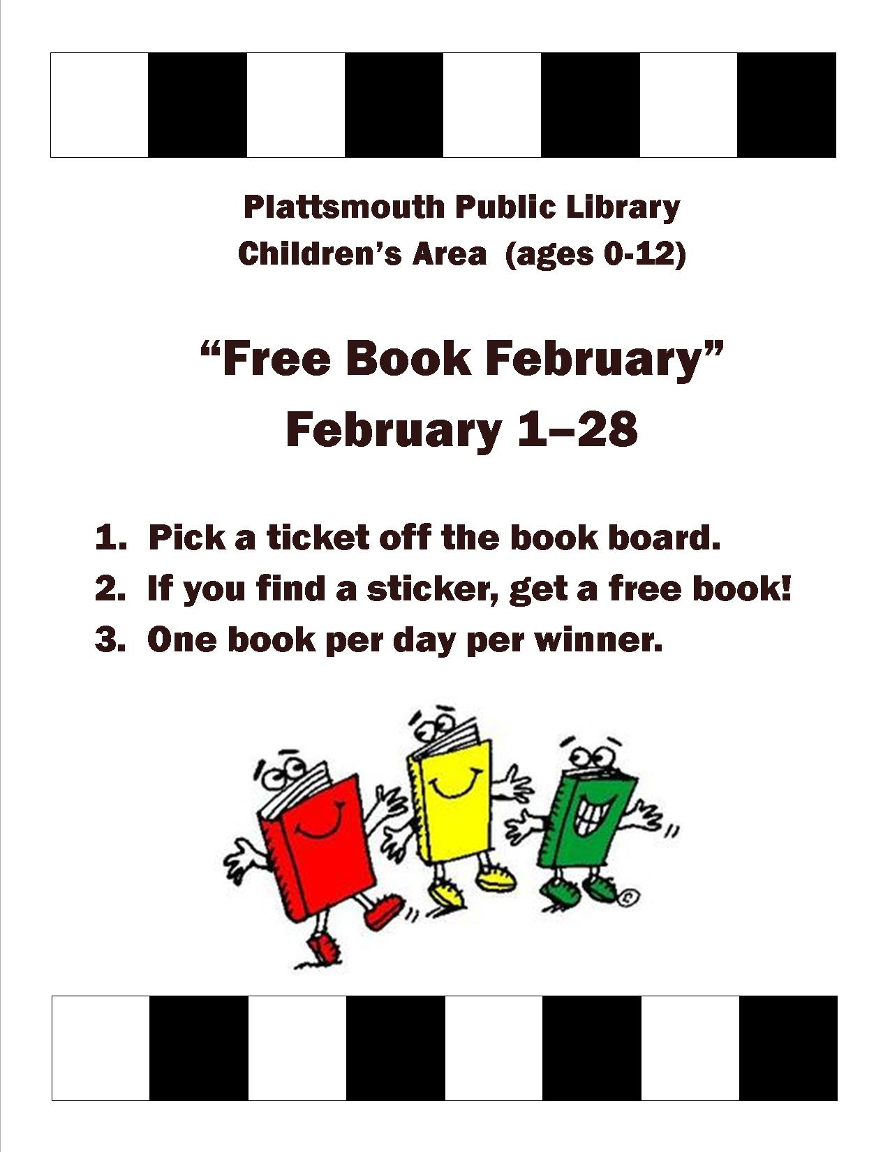 Free Book February Poster3238