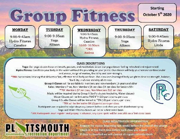 PL group fitness